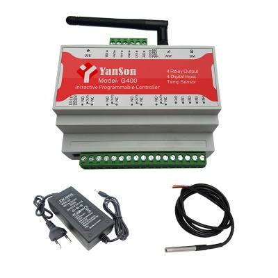کنترل پیامکی ماینر با سنسور دما